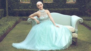 Teen cancer patient models in inspiring princess photo shoot