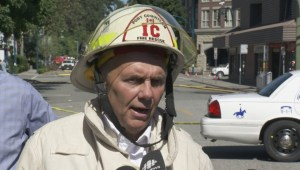 Port Coquitlam mayor and fire chief  talk about extent of fire damage