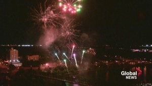 PotashCorp Fireworks Festival on Friday