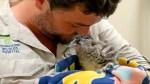 WATCH: Cute koala joey recovering after being found in blazing sun