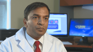 Saving lives:  Dr. Atul Humar explains that one donor can save the lives of multiple recipients