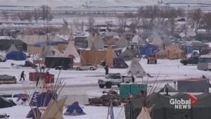 U.S. military veterans backing North Dakota pipeline protests