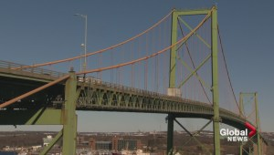Halifax bridges not reaching projected traffic volumes to warrant 3rd crossing