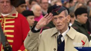 Thousands attend Remembrance Day at Calgary's Military Museum