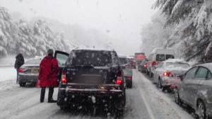 Weather playing havoc on Americans traveling for Thanksgiving