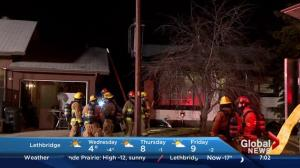 Two fires in Falconridge