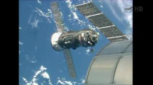 Second re-supply mission successfully arrives at ISS