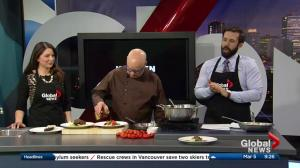 Edmonton chef features delicious dishes