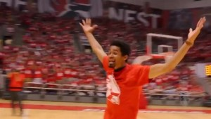 University freshman nails half-court shot to win free tuition
