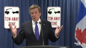 Tory: Law doesn't allow city to enforce payment of parking tickets
