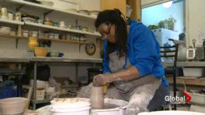 Women create one-of-a-kind pottery creations at Toronto studio filled with inspiration