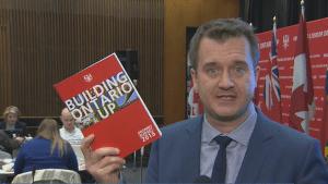 Ontario budget heavy on infrastructure spending