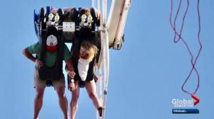 Edmonton family stuck on Mach 3 ride at Calgary Stampede speaks out
