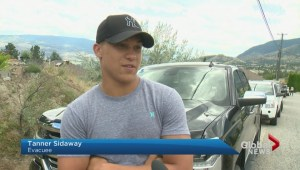 Penticton evacuees on edge after wildfire