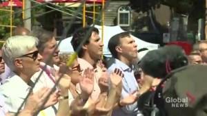 PM Trudeau a plus to Toronto Pride Festival