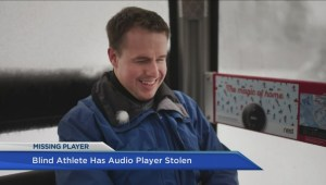 Audio recorder stolen from Paralympic athlete Donovan Tildesley