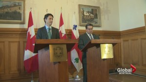 Justin Trudeau meets with Denis Coderre