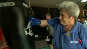 Battling Parkinson's in the boxing ring