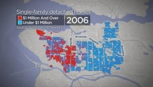 Vancouver housing's million dollar creep