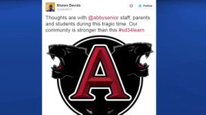 Social media reaction to Abbotsford school stabbing