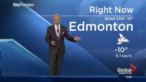 Edmonton Morning News weather forecast