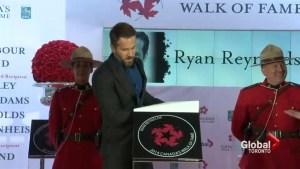 Rachel McAdams, Ryan Reynolds inducted into Canada Walk of Fame