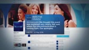 Bellis Fair cross-border shopping confusion