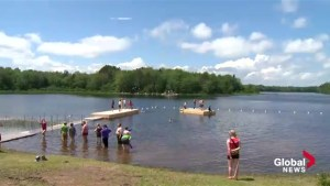 Youth from around the world take part in Canadian Scout Jamboree