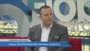 Angus Reid opens up about overcoming addiction