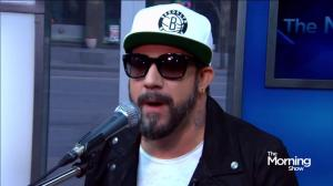 A.J. McLean's live acoustic performance of 'Live Together'