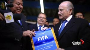 FIFA's Sepp Blatter vows to stay at helm of world soccer