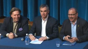 PC leadership candidates call for televised debate