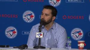 Alex Anthopoulos: Michael Saunders is our left fielder going forward