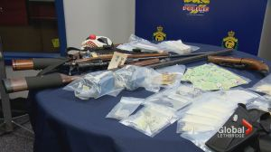 10 people arrested after several weapons and drug charges