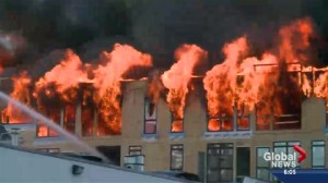 Weekend fire raises concerns over condo decision