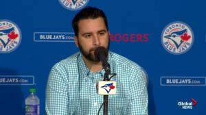Jose Bautista sends Alex Anthopoulos humourous text following news of David Price trade