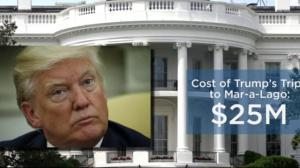 Trump outspends Obama on travel in only 100 days