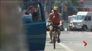 Cyclists hit by car doors on the rise in Toronto