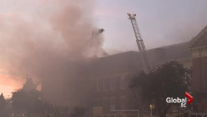 Where will Carleton Elementary students go after school goes up in flames?