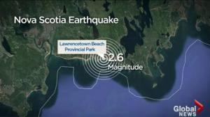 Nova Scotia Earthquake