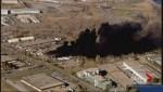 Crews on scene of massive blaze in Southeast Calgary