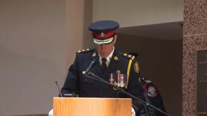 Former Chief Blair happy to hand over the reigns
