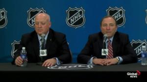 Bettman not surprised by the level of interest in Las Vegas for a possible NHL franchise