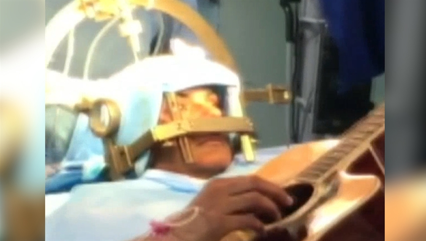 Patient Plays Guitar As Doctors Operate On His Brain