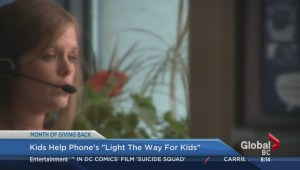 Month of Giving: Kids Help phone