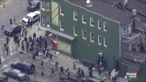 Protesters in Baltimore loot corner store amid ongoing violence