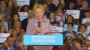 'Who gets up at 3 o'clock in the morning to engage in a Twitter attack?: Hillary goes after Trump