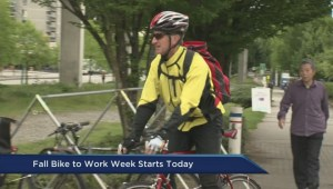 Fall Bike to Work week begins