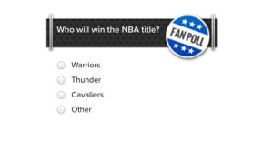Online poll raises ire of Raptors fans