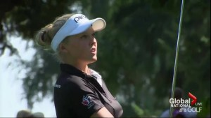 Canadian Brooke Henderson takes women's PGA title at 18